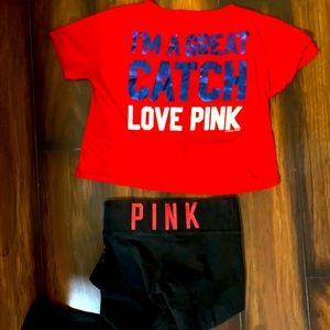 Pink Phillies bundle both extra small